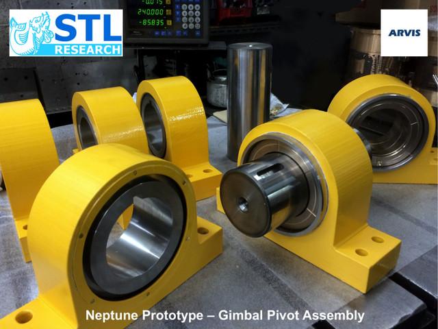Neptune Prototype - Gimbal Pivot Assembly